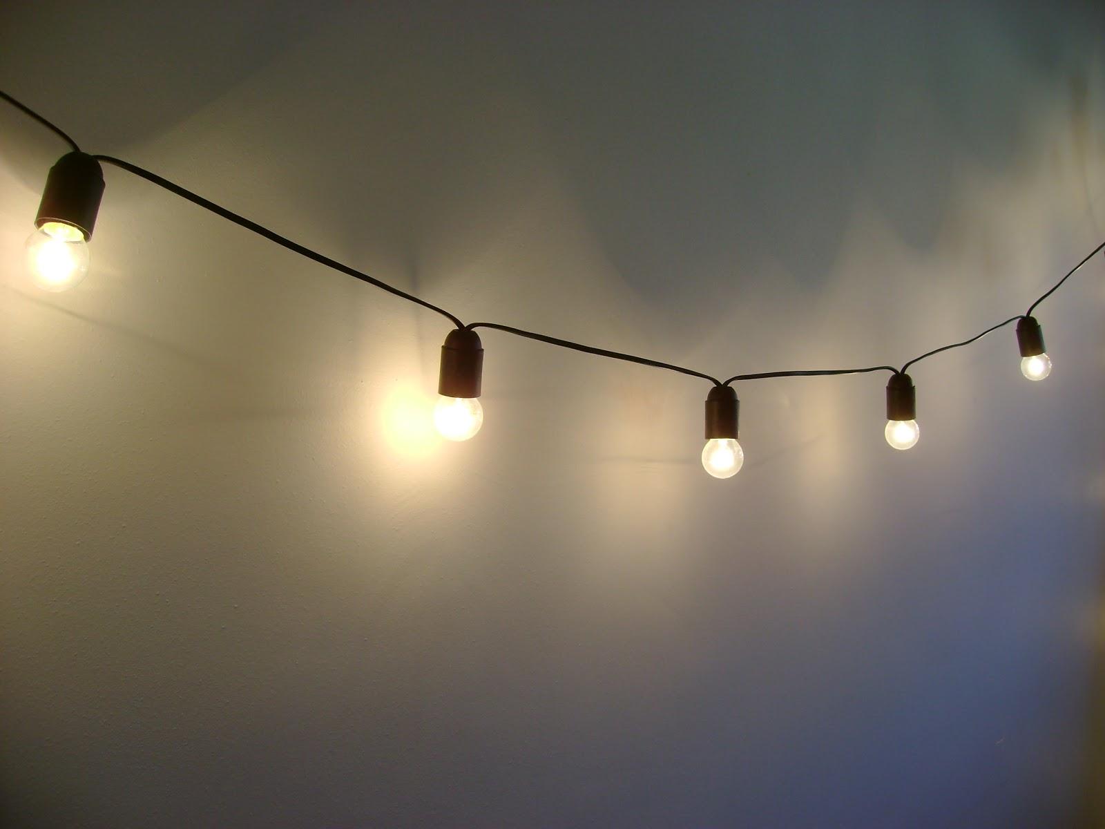 El taller de chlo diy guirnalda de luces for Luces exterior bombillas