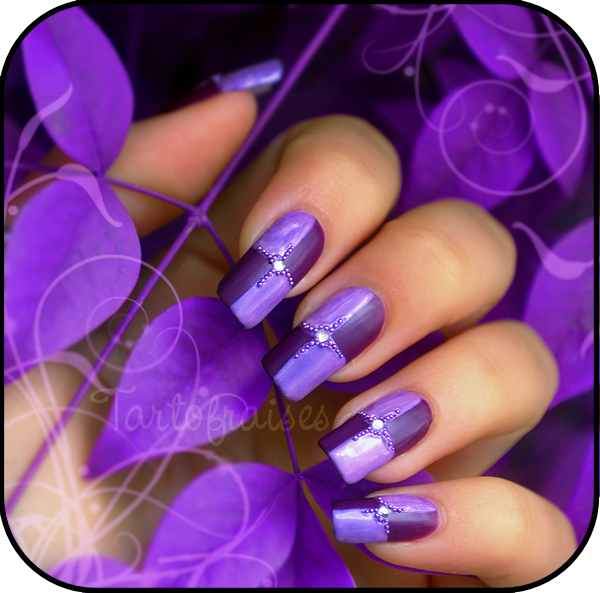 Awesome Nail Art Purple