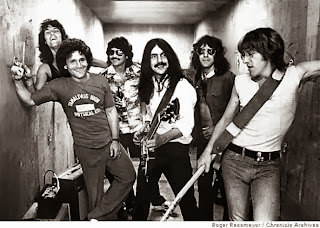 Jefferson Starship. (Aynsley Dunbar, David Freiberg, Mickey Thomas, Craig Chaquico, Pete Sears, Paul Kantner)