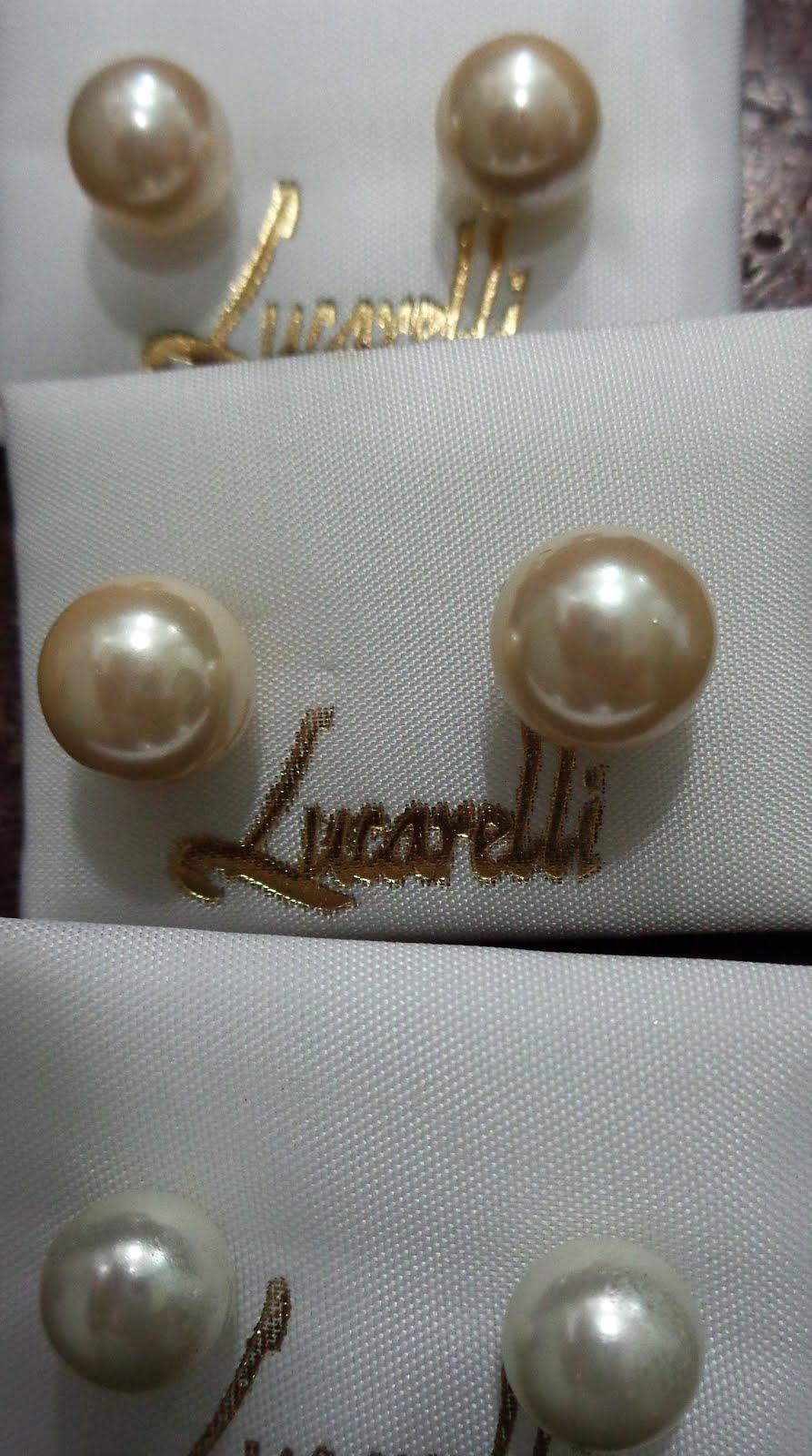 Pendientes de oro con perlas Shell