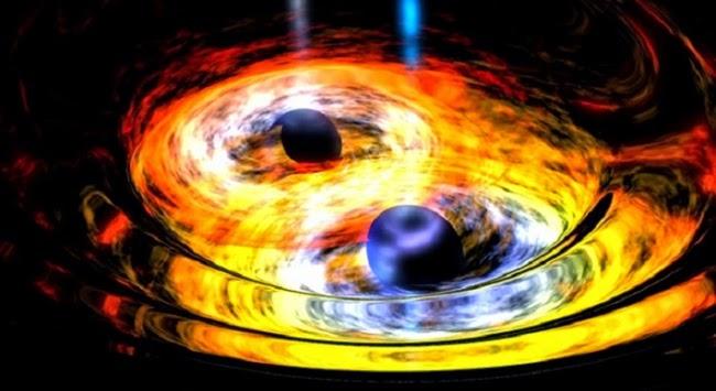 Penggabungan Dua Lubang Hitam Supermasif Terdeteksi Lewat Denyutan Cahaya