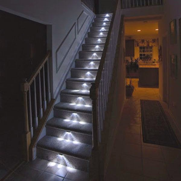 interior stairs lights