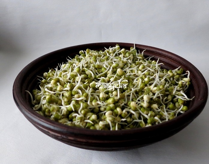 easy moong sprouts at home
