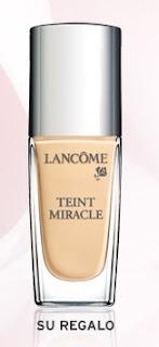 Muestra gratis Teint Miracle de Lancôme (base de maquillaje)