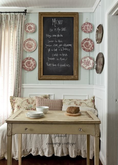 House tour house snooping at french country cottage worthing court - Maison chic magazine ...