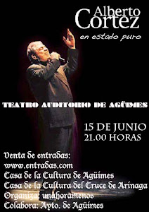 Alberto Cortez en Agimes
