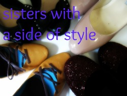 Sisters with a Side of Style - blog with my sister!
