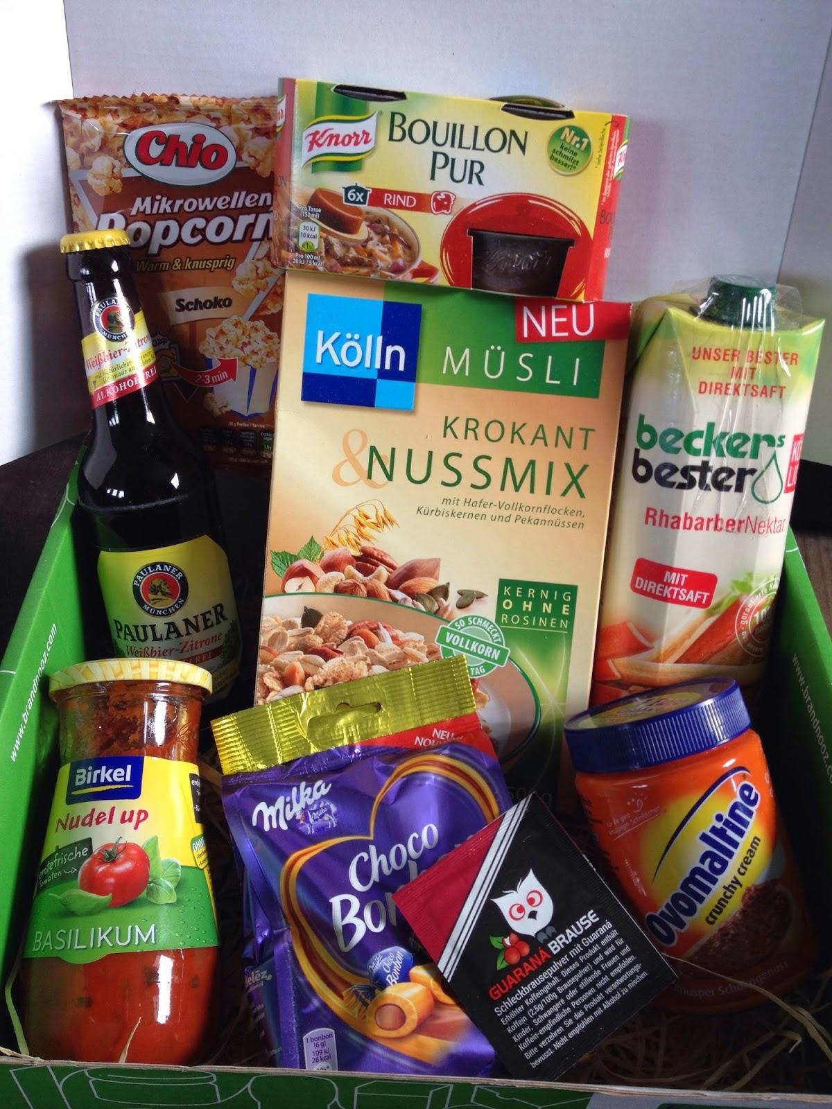 Lebensmittel, Box, Überraschung