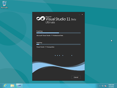 Windows 8 Consumer Preview Beta and Visual Studio 11 Beta