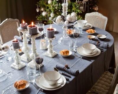 """Décoration de table de mariage """"Gustavienne"""""""