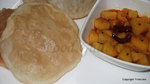 Luchi, How to make bengali poori