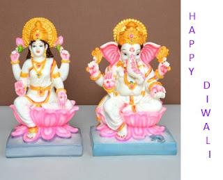 Goddess Lakshmi with Lord Ganesh