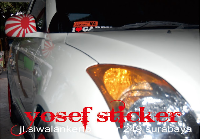 smoke lamp sticker