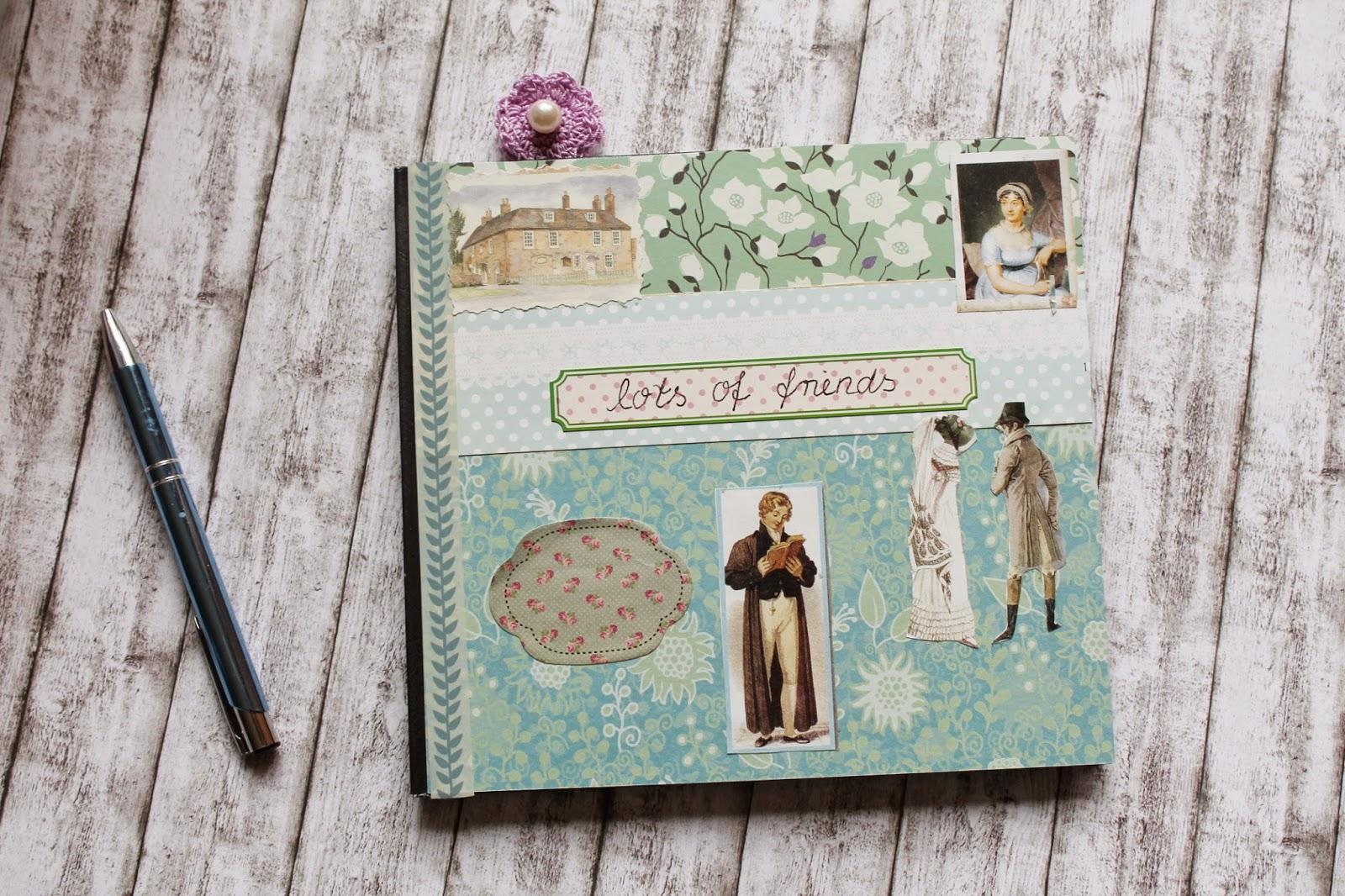 DIY Kladde Jane Austen Notebook