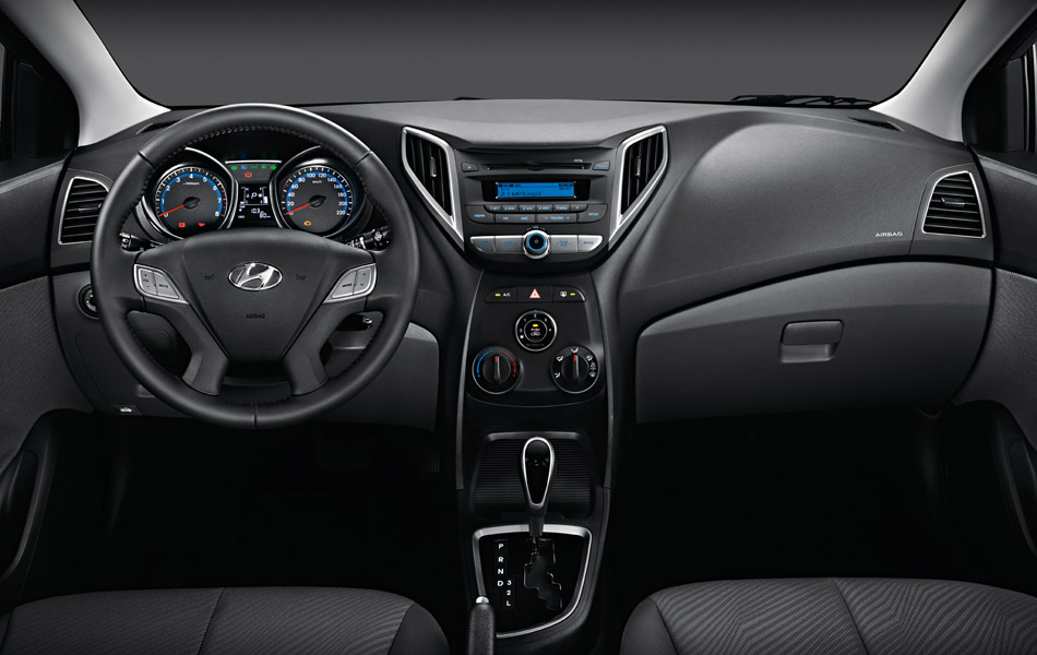 novo Hyundai HB20 Sedan 2014 interior
