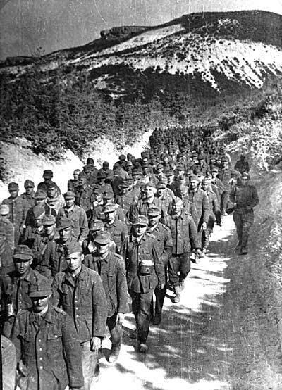 Пленные немцы в Крыму