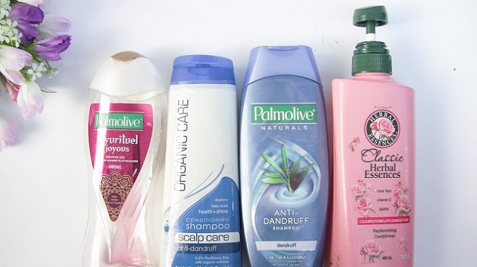 hair products palmolive herbal essences dandruff
