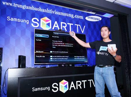 Trải nghiệm thú vụ trên SAMSUNG smart Tivi