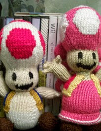 http://www.ravelry.com/patterns/library/toad-toadette-from-mario-kart