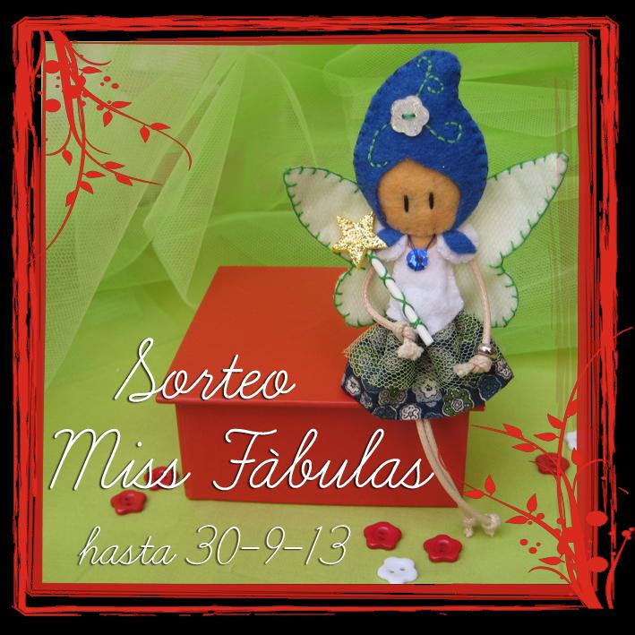 SORTEO EN MISS FABULAS