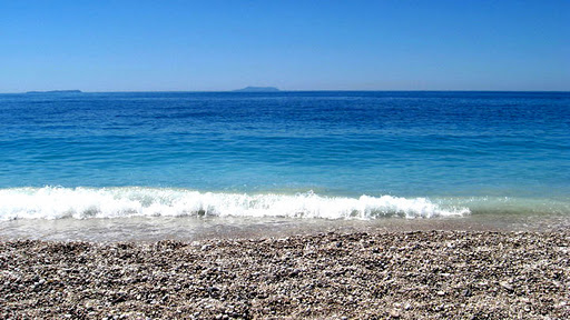 Spiaggia di Livadhi (Himara , Albania)