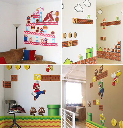 Here Is An Example Images For Super Mario Brothers Bedroom Decor If You Have A Good Floor Plan To Your Bedroom You Will Be Able To Come Up With A Ton Of