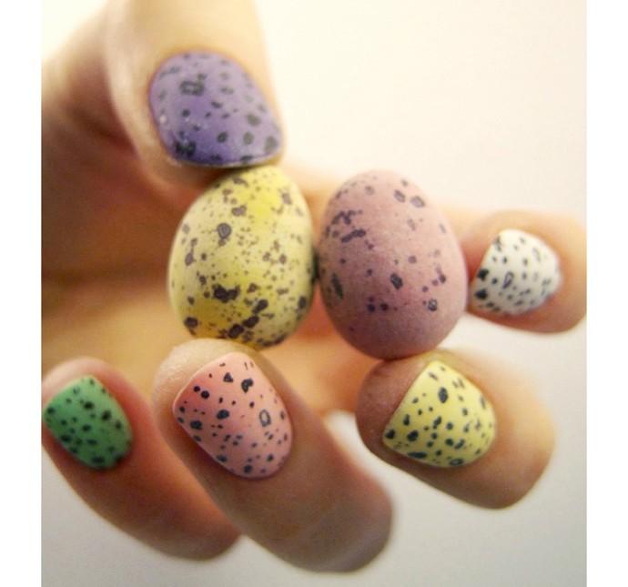 nail and art 8 Desenhos de unhas Inspirados na Primavera