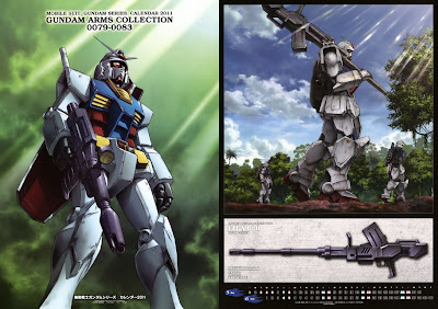 Gundam Arm Collection Calendar 2011