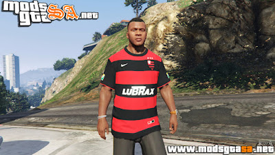 V - Camisa do Flamengo para GTA V PC