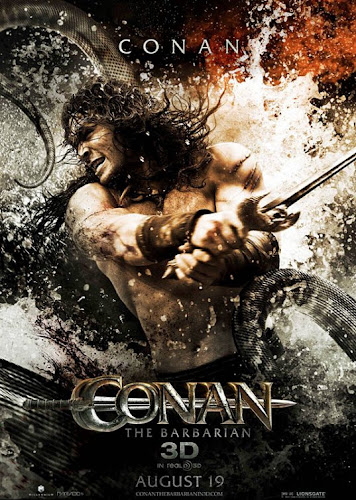 Conan The Barbarian Poster 2011