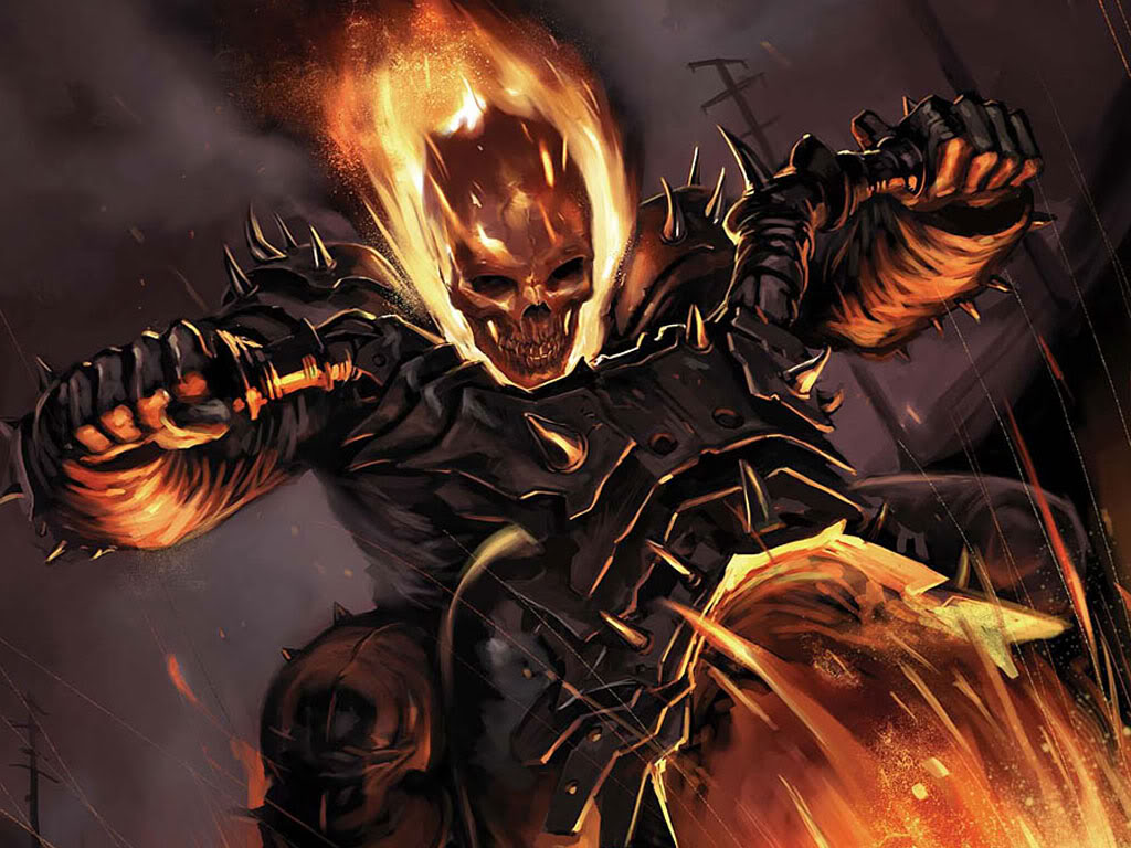 ghost rider wallpapers cartoon wallpapers