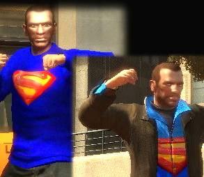 GTA IV Superman Mod