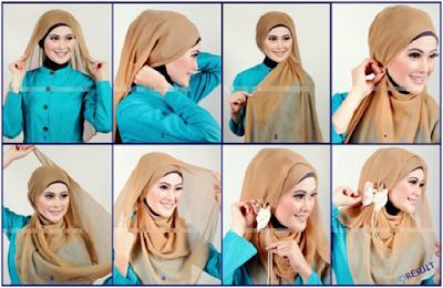 Tutorial Hijab Kantor Simpel dan Mudah Cara Memakainya