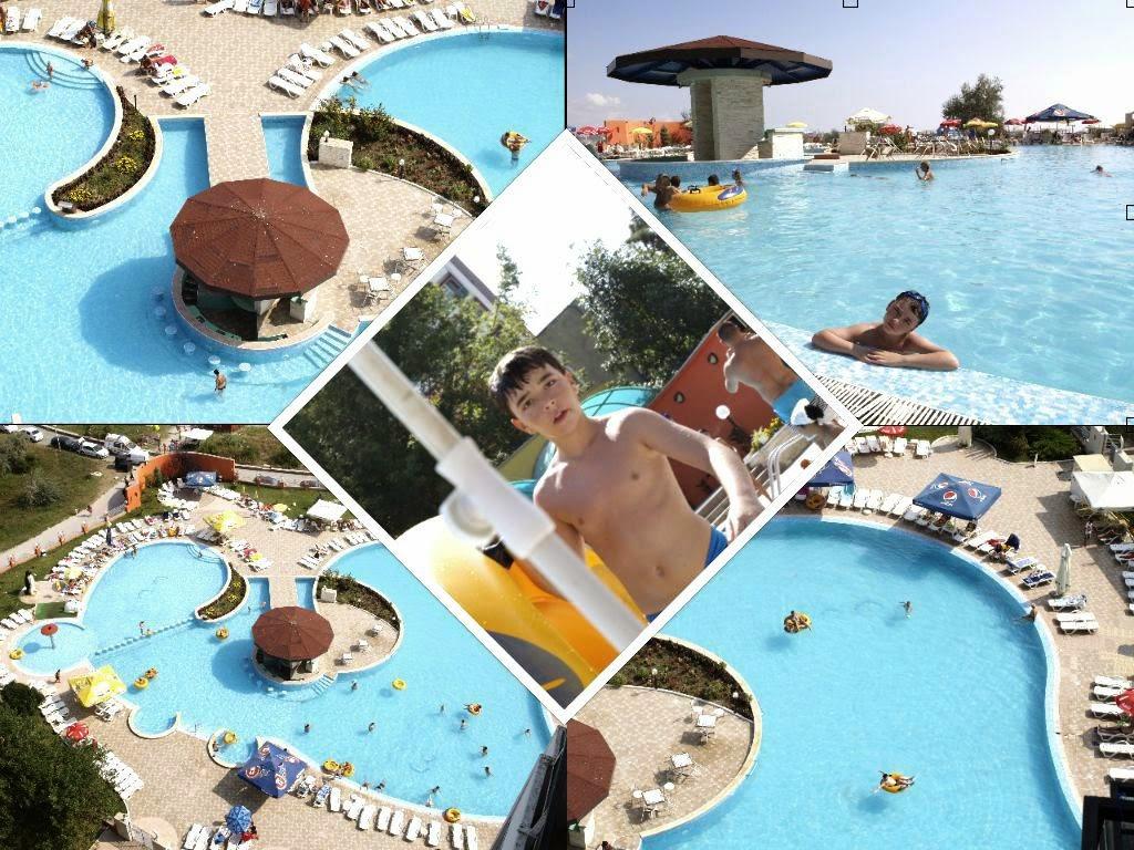 activităţi în concediul din Saturn 2014 - piscina Balada