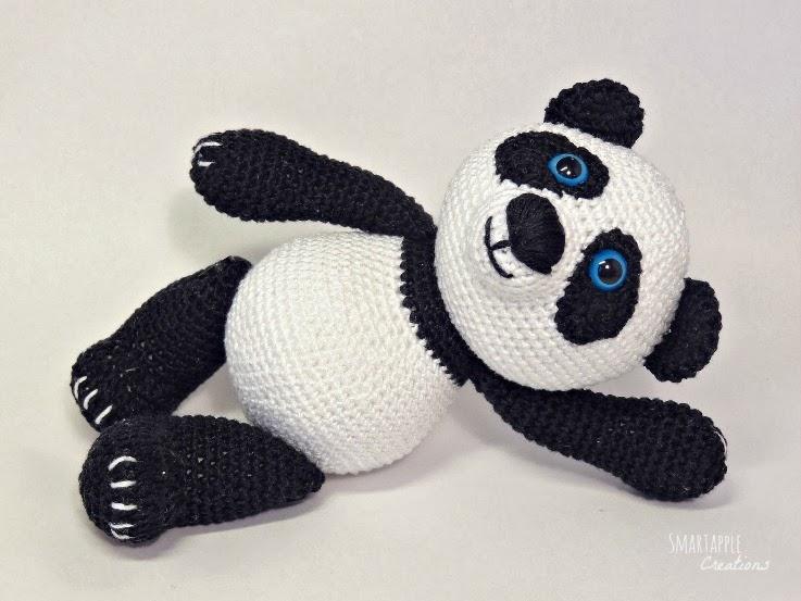 Smartapple Creations - amigurumi and crochet: Amigurumi Panda