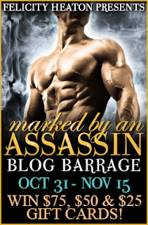 Marked by an Assassin Blog Barrage - Felicity Heaton