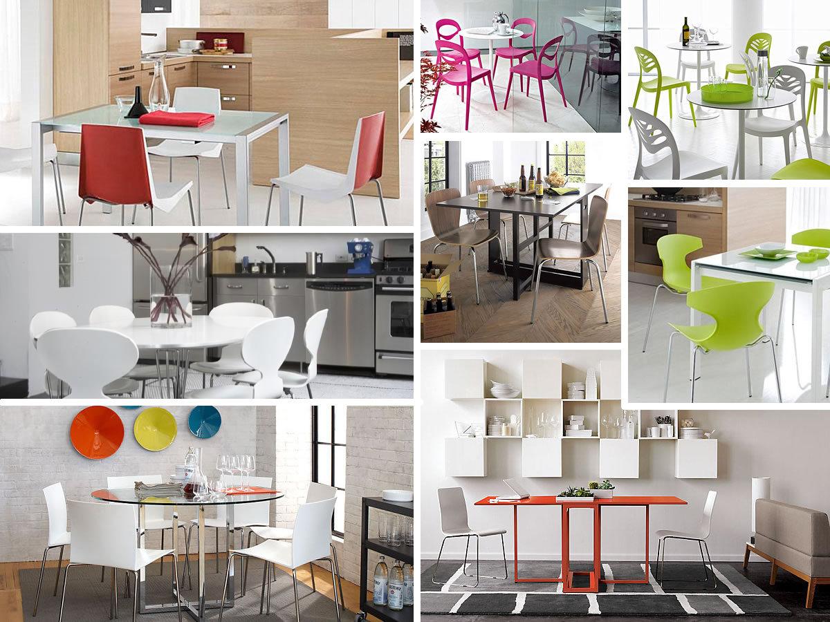 Mesas y sillas de cocina impresionantes para un hogar for Mesa trabajo cocina