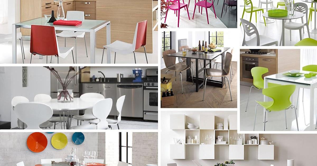 Mesas y sillas de cocina impresionantes para un hogar moderno cocina y muebles - Sillas para cocina ...