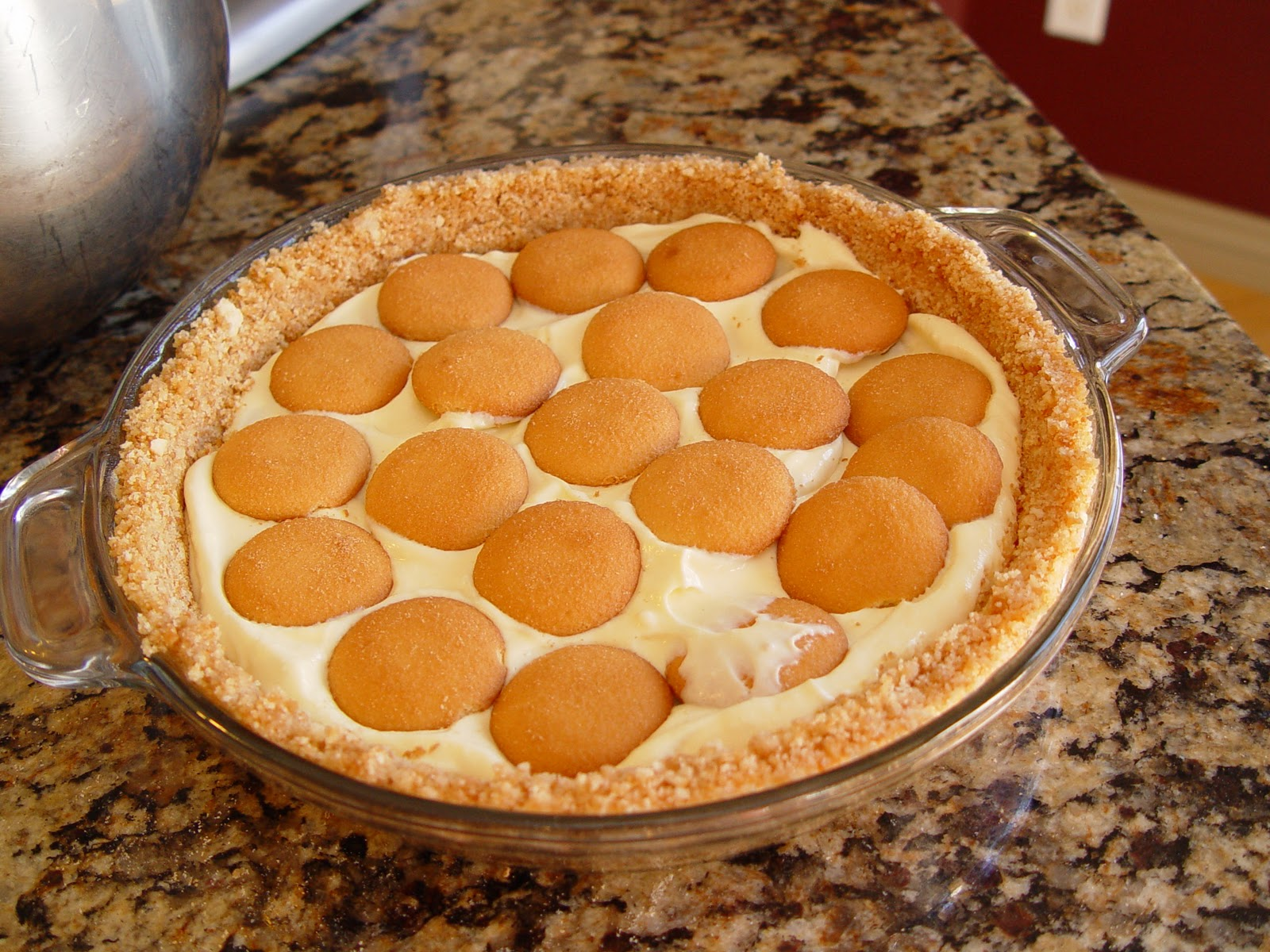 Banana Pudding Pie