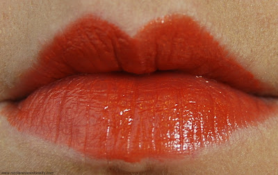 Dr. Hauschka Lipstick Novum in 02 Copper Beach Swatch