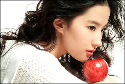 Crystal Liu Yifei pemeran bibilung terbaru