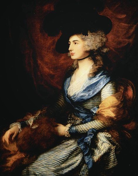 Sarah Siddons by Thomas Gainsborough, 1785