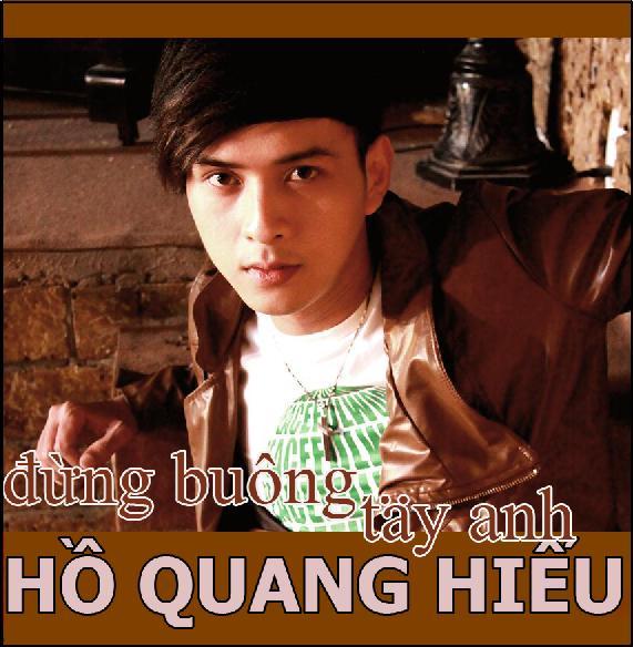 Album Đừng Buông Tay Anh - Hồ Quang Hiếu (2012)