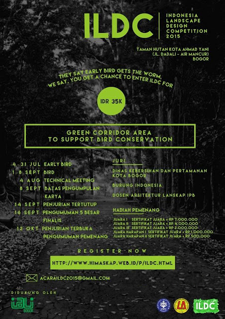 Indonesia Landscape Design Competition 2015