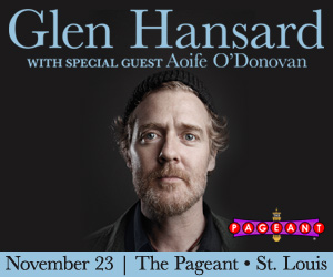 GLEN HANSARD AT THE PAGEANT ON NOVEMBER 23