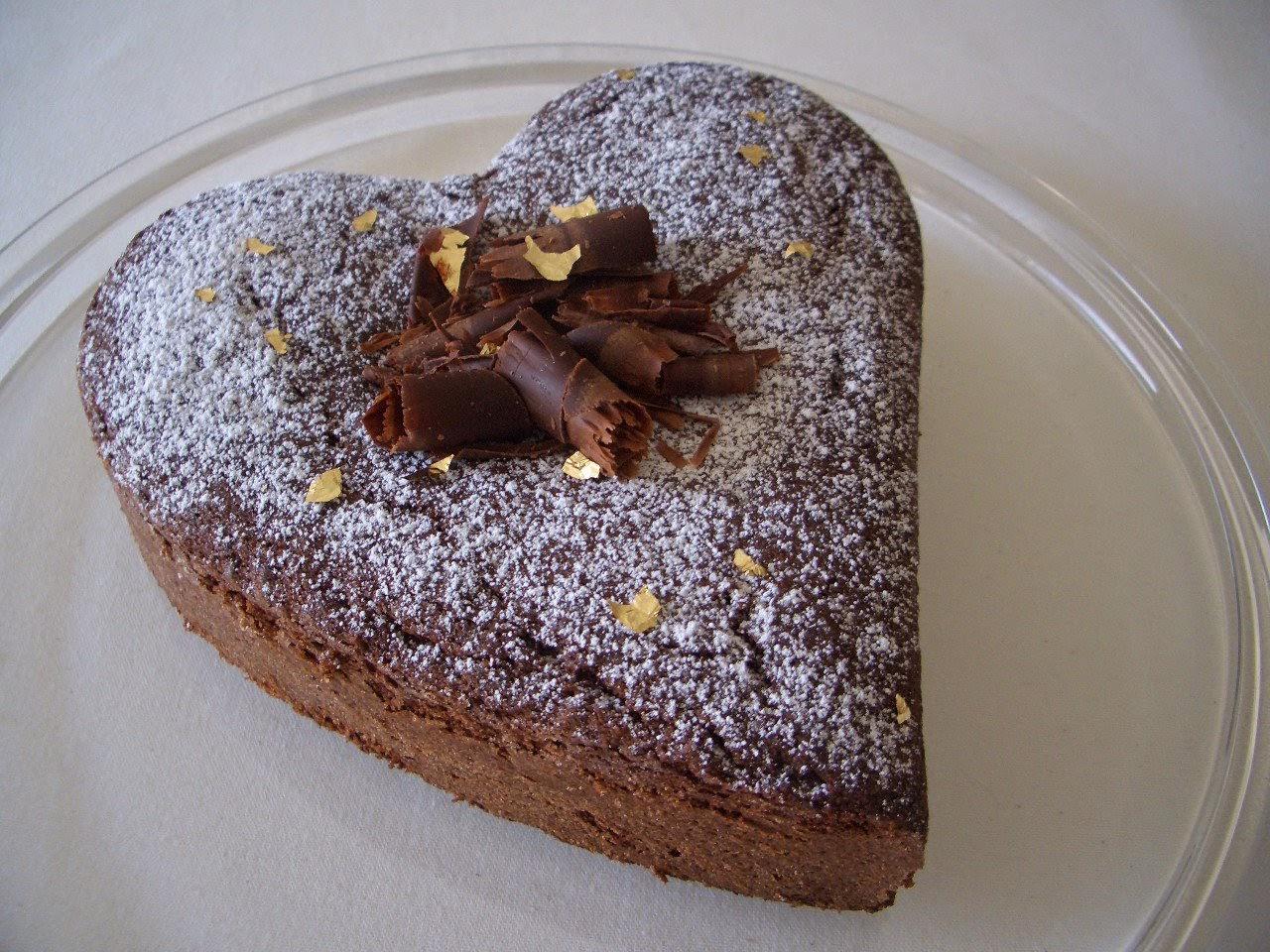 Recette du Gâteau cœur en chocolat