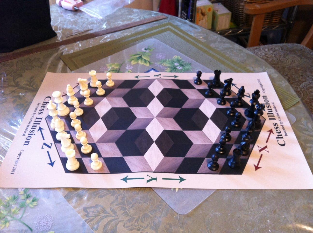Chess Illusion Chess Illusion Version 2