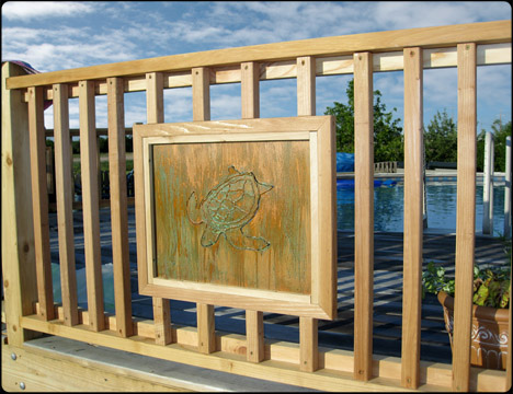 deck railing designs and ideas - Deck Railing Design Ideas