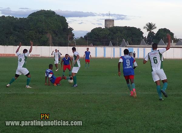 12ª rodada do Campeonato Paratinguense 2013