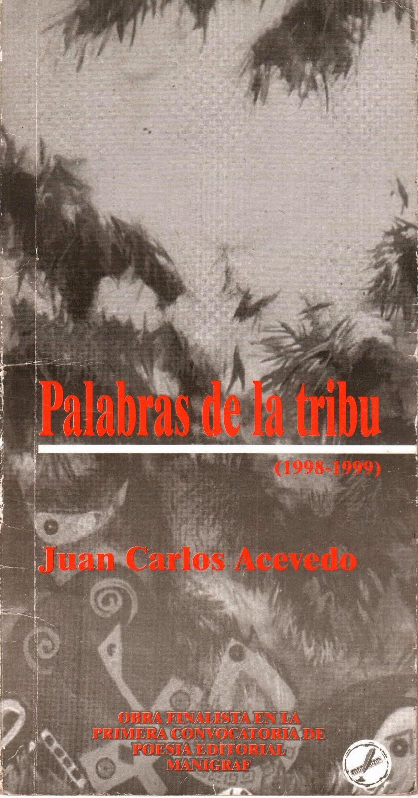 Libro Palabras de la Tribu